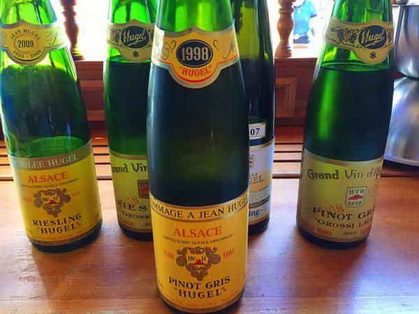 יקבים על דרך היין של אלזס, צפון צרפת