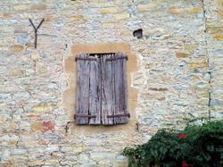 בתי אבן עתיקים בכפר סנט אנימי