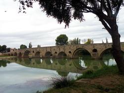 בזייה - גשר על נהר אורב