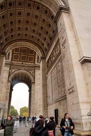 שער הנצחון, אחד הסמלים של העיר פריס