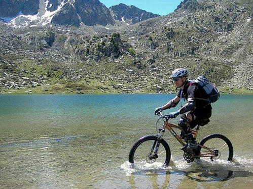 דרך הקתרים באופני הרים, מסע חוצה פירנאים