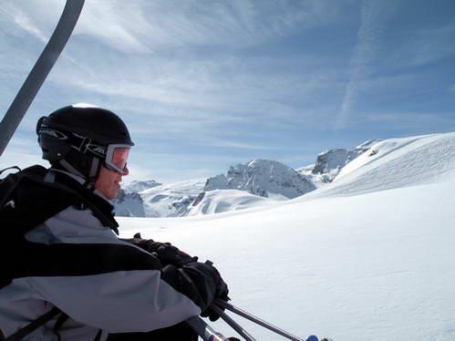 אתר הסקי טין, צרפת