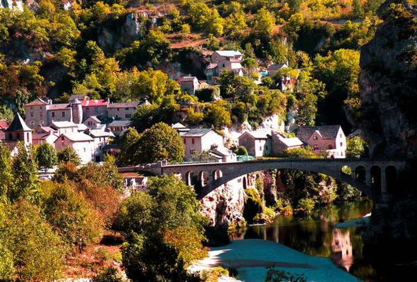 קניון טארן, דרום צרפת