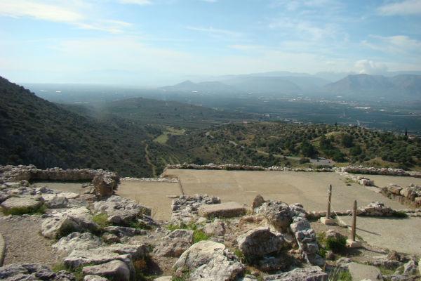 האתר הארכיאולוגי מיקנה, יוון, פלפונס