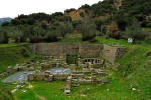 אתר עתיקות, קניון לוסיוס, יוון