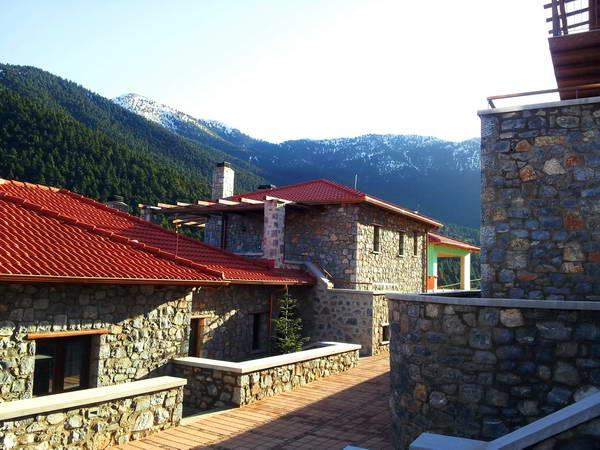 בית מלון ליד אתר סקי, חצי האי פלופונס