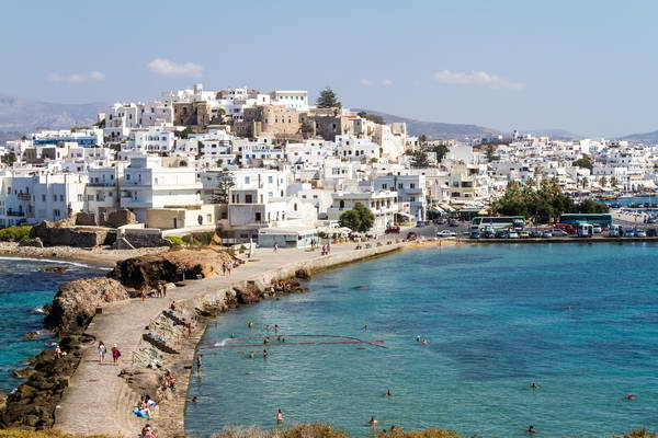 האי נאקסוס, איי יוון