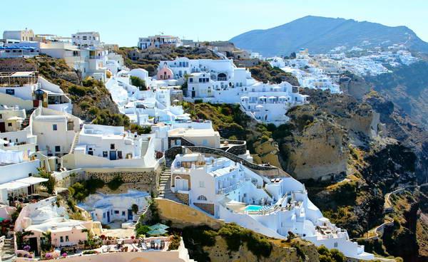 האי סנטוריני, איי יוון