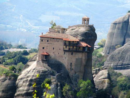 מנזרי מטאורה, יוון ההררית