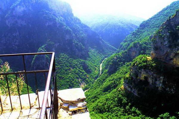 קניון ויקוס, צפון יוון