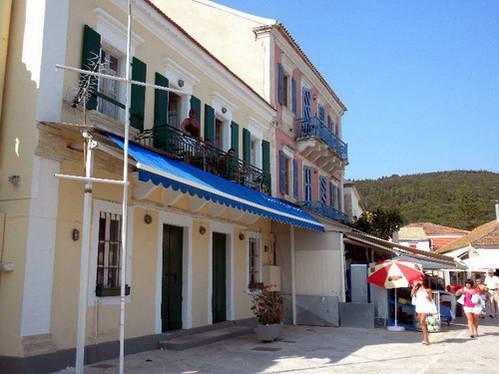 השפעה וונציאנית, בתים בעיירת הנמל הצפונית פיסקארדו