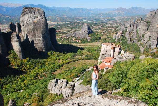 מנזרי מטאורה - המנזרים התלויים, צפון יוון