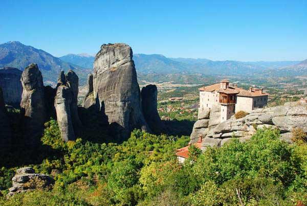 מנזרי מטאורה, יוון, רוסריו
