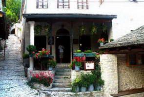 הטברנה סטווראיטוס בכפר סירקו, יוון
