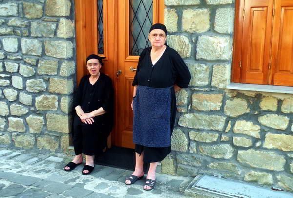 סמטאות הכפר מצובו, יוון