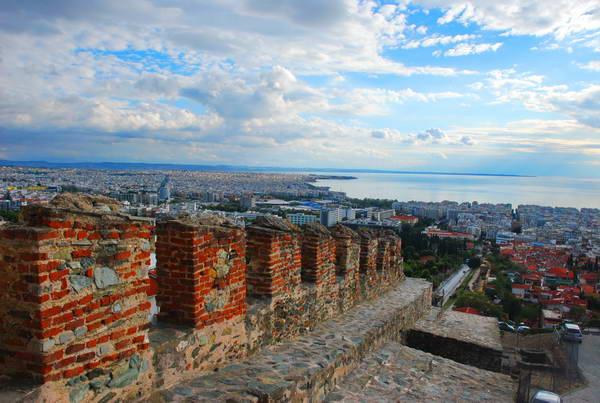 המבצר, סלוניקי, צפון יוון