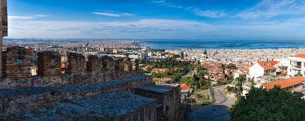 תצפית על סלוניקי מהמצודה