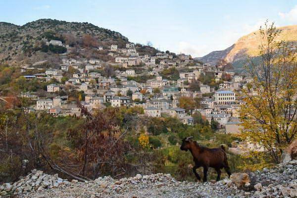 הכפר סיראקו, צומרקה, צפון יוון