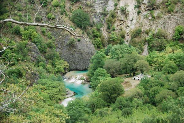 מעיינות וויידומאטיס, זגוריה, צפון יוון