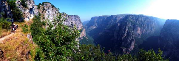 קניון ויקוס בחבל זגוריה, יוון