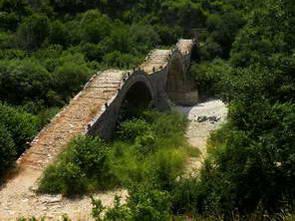 גשר קאלוגריקו בחבל זגוריה, יוון