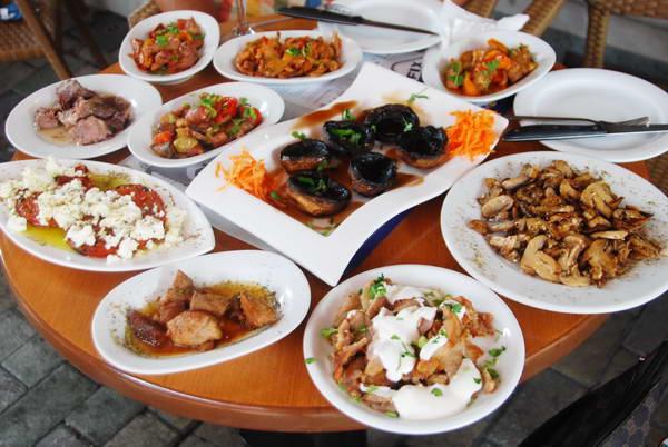 מסעדת פטריות, גרבנה