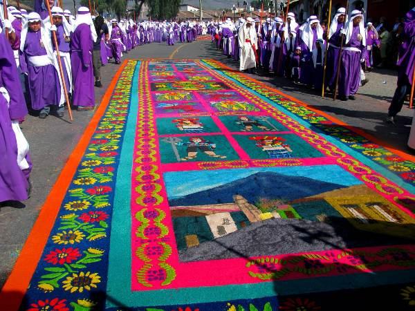 תהלוכות חג הפסחא באנטיגואה גואטמלה