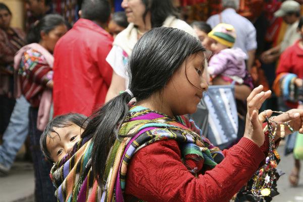 תושבים מקומיים בגואטמלה