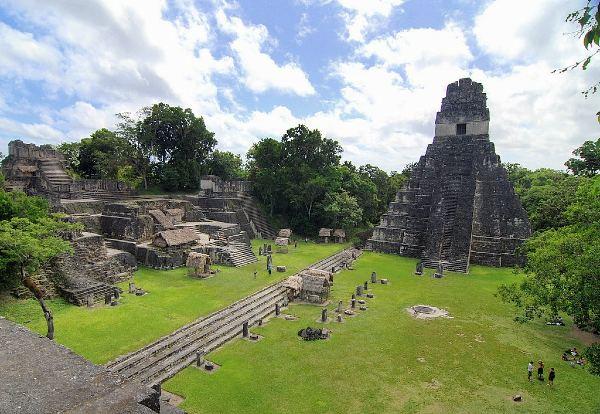 עיר המאיה העתיקה טיקאל, גואטמלה