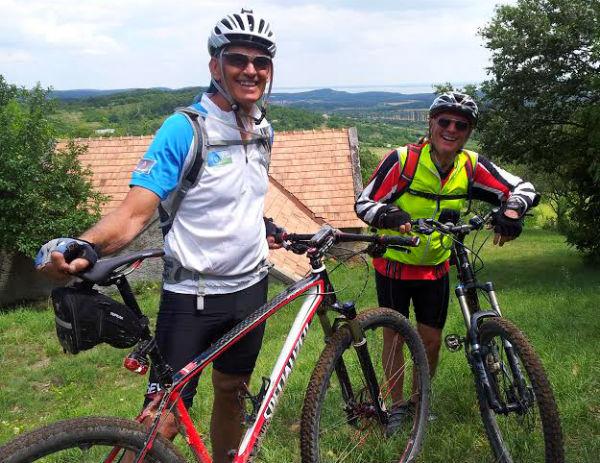 טיול אופניים בהונגריה, אגם בלטון