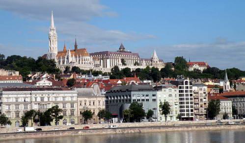טירת בודה, מצודת הדייגים וכנסיית מטיאש בבודפשט