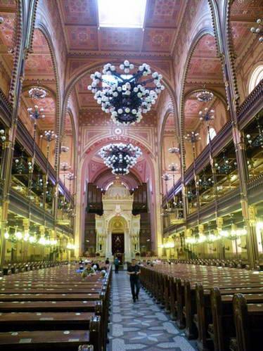 בית הכנסת הנאולוגי בבודפשט, הונגריה