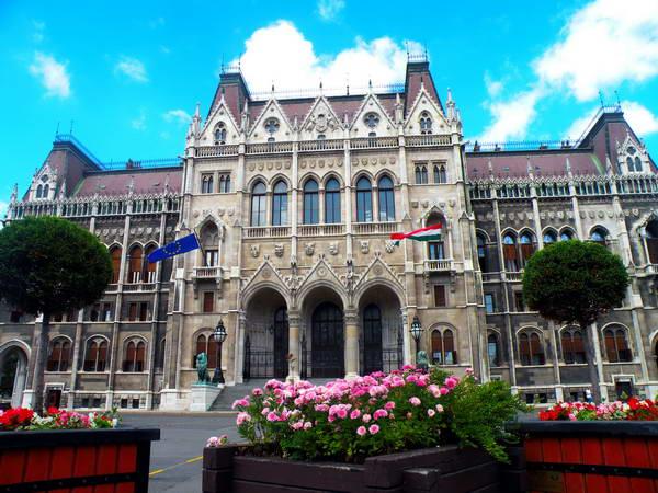 הפרלמנט של הונגריה בבודפשט