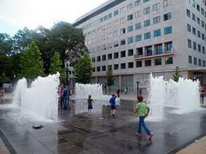 מזרקות כיכר השיחרור בבודפשט