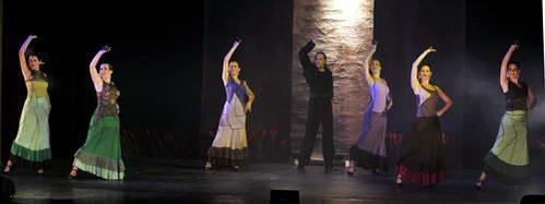 להקת הפלמנקו הישראלית בפסטיבל היהודי בבודפשט