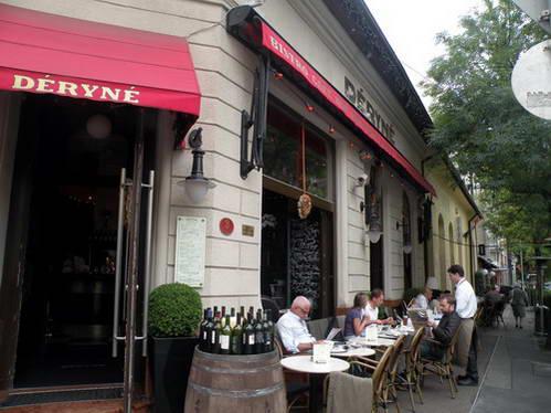 קפה דרינה ליד טירת בודה, בודפשט