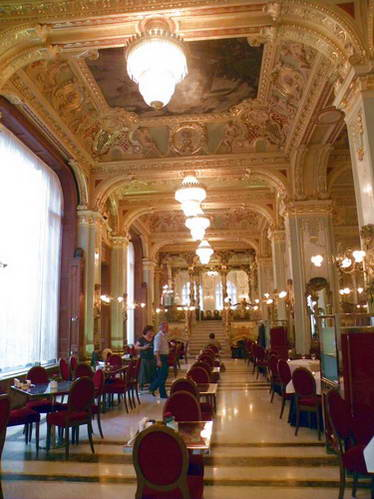 קפה ניו יורק בבודפשט, הונגריה