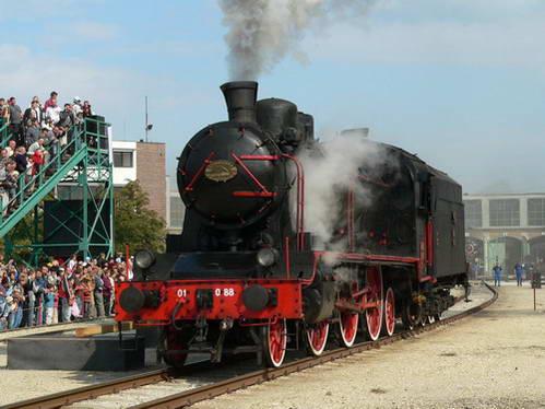 רכבת ישנה במוזיאון הרכבות, לטייל עם ילדים בבודפשט