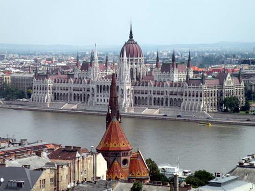 נהר הדנובה , הונגריה
