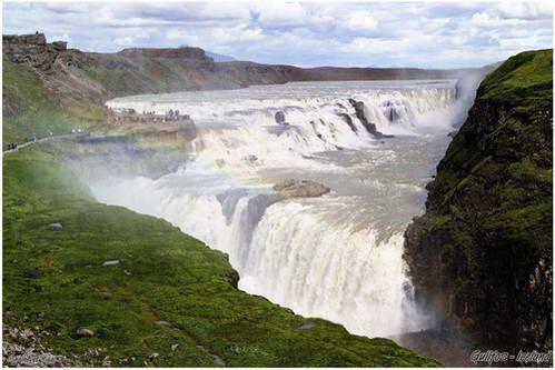 מפלי גולפוס, איסלנד