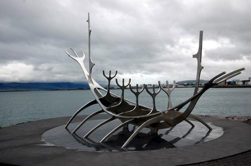 פסל הספינה הוויקינגית, רייקיאוויק