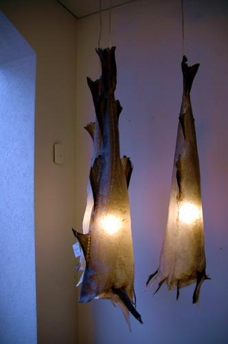 אהילים מעוצבים מעור דג, איסלנד