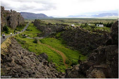 עמק ת'ינגווליר, איסלנד