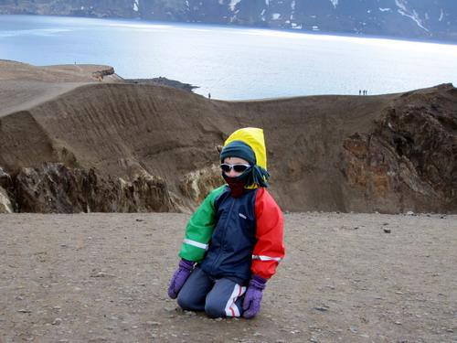 לבוש היטב בקור האיסלנדי