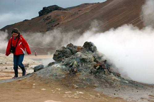 שסתום הקיטור , איסלנד