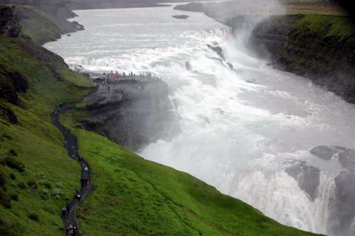 מפל גולפוס, איסלנד