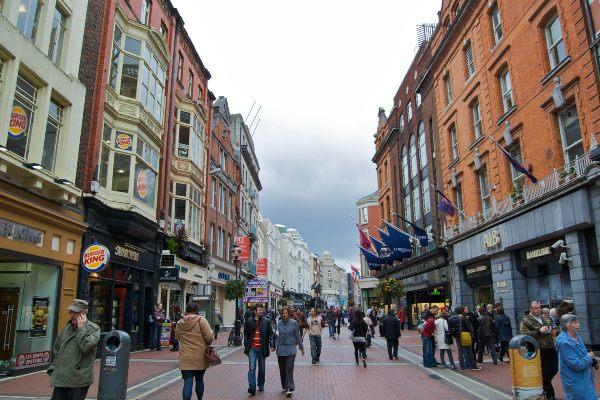 רחוב גרפטון בדבלין, אירלנד