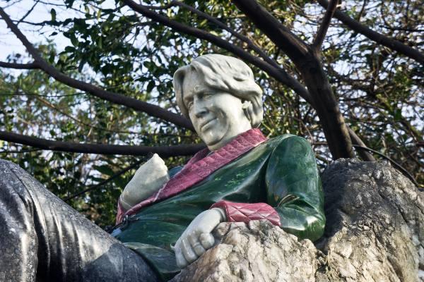 פסלו של אוסקר ויילד בדבלין, אירלנד