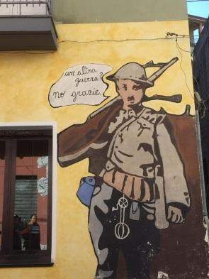 ציור קיר בעיירה אורגוזולו
