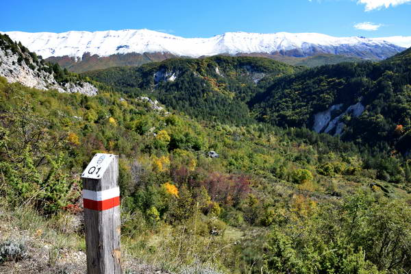 שמורת מיילה, אברוצו, מעבר הרים